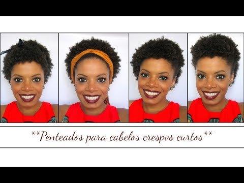 Conheça Alguns Penteados Para Cabelos Crespos Curtos