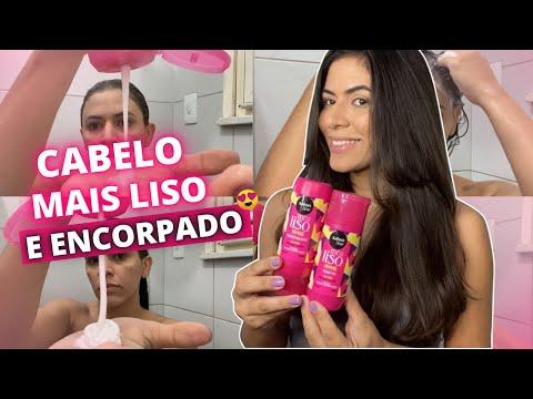 Resenha do Shampoo + Condicionador Meu Liso Demais Salon Line
